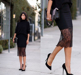 Cheap Split Midi Skirt | Free Shipping Split Midi Skirt under $100 ...