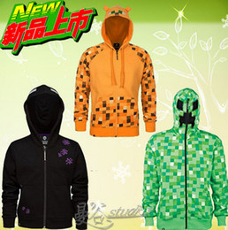Wholesale 5 styles AAAA quality Hot Sale Minecraft coats minecraft hoodies Minecraft Youth Hoodies coat Minecraft Jacket LJJD1704