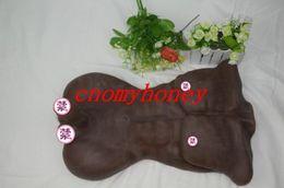 Wholesale Envío libre negro Hombres Entidad amor del silicón muñecas del sexo de la piel real Masturbador juguete del sexo para la mujer dentro de la vagina sexo del gatito envío y entrega
