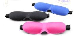 Wholesale hot selling Sponge D Sleeping Eye Mask Shade Nap Cover Blindfold Sleeping Eyeshade Rest