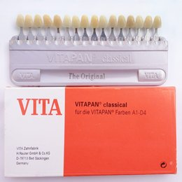 Wholesale VITA Dental Teeth whitening shade guide Dental Porcelain VITA Pan Classical Color Tooth Dentist high quality