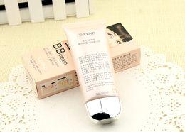 Wholesale 5pcs BB Cream Hot coréen crème cc ml parfaite couverture anti rayonnement BB Crème cosmétique blanchissant Concealer couleurs Makeup Concealer