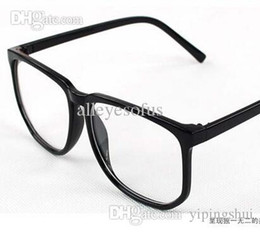 e03 fashion large frame vintage leopard print large black plain eyeglasses frame rubric for glasses frame size