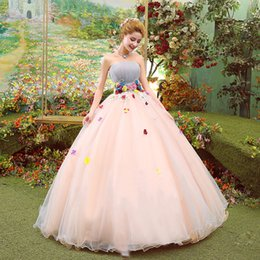 Wholesale Vintage Victorian Gothic Style Gold Embroidery Sweetheart Bodice Corset Purple Champagne Ball Gown Quinceanera Dresses