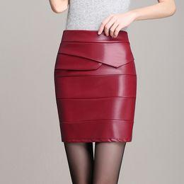 Ladies Black Leather Skirts Online | Ladies Black Leather Skirts ...