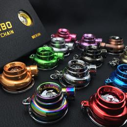 El envío libre llevó el llavero de Turbo con el sonido y girando por la batería disponible para 13 colores a elegir de con el paquete del regalo