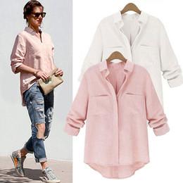 Wholesale Blusas Femininas Women Shirt Chiffon Tops Elegant Ladies Formal Office Blouse Colors Work Wear Plus Size XXL women tops