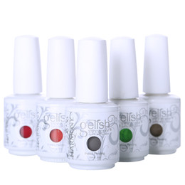 Wholesale Harmony Gelish Nail Polish Soak Off UV LED Gel Solid Pure UV Gel Nail Art Tips Design Extension Nails DIY Sets Gel Nail Polish Nail Art ml