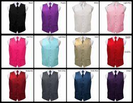 Wholesale Handsome Mens Vests Wedding Groom Formal Waistcoats Groomsmen Bridegroom Suit Vest Business Party Prom Waistcoat T42