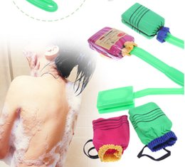 Wholesale Korea And Japanese Bath Shower Massager Scrubber Spa Body Back Wash Brush With Handle
