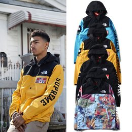 Wholesale men s windbreaker jacket M reflective coat new autumn and winter mens designer Clothes hip hop Face softshell BAPE