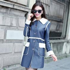 Cheap Womens Long Leather Coats Sale | Free Shipping Womens Long