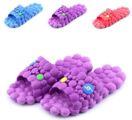 Bedroom Slippers Women Flat Shoes Massage Slippers Candy Colour