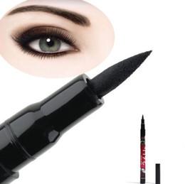 36pcs impermeable Negro delineador líquido Maquillaje Belleza comestics de ojos lápiz delineador de regalo de alta calidad libre de la nave