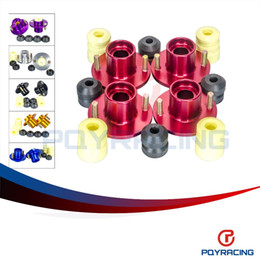 PQY STORE- (4pc / lot) ПОДВЕСКА SHOCKS TOP HAT ДЛЯ HONDA CIVIC 88-00 SUSPENSION SHOCKS TOP HAT (INTEGRA ALSO) PQY-STH81