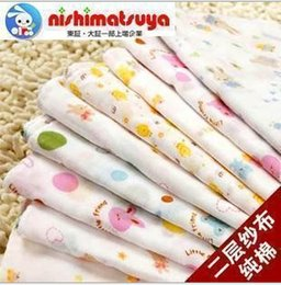 Wholesale soft beach baby bath hand towel cotton cm gauze square saliva towels nursing towel