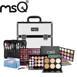Wholesale MSQ Brand Makeup Set For Professional Makeup Artist Make Up Necessity With A Multi functional Cosmetics case