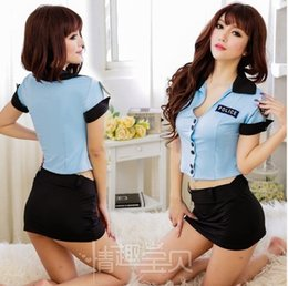 Wholesale New Hot selling sexy costumes Police uniform without hat