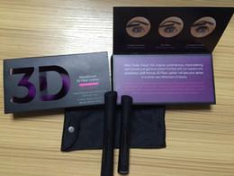 Wholesale 2015 New Moodstruck version D Fiber Lashes Waterproof Double Mascara D FIBER LASHES Set Makeup Eyelash set