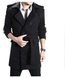 Discount Cheap Long Coats For Mens   2017 Cheap Long Coats For