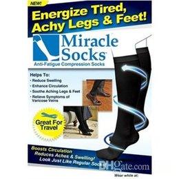 завод цена 300pairs / серия Чудесные носки, носки для похудения, медицинские компрессионные носки Freeshipping