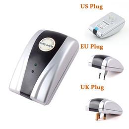 Alimentation 90V-250V Savers 18KW Électricité électrique Energy Saving Money Saver Box Pour la maison US Plug (UK Adaptateur UE)