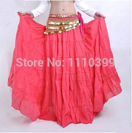 Wholesale Fashion New Womens Multi Satin Skirt Belly Dance Costume Latin Gypsy Tribal Long Maxi Dress indian dress colors