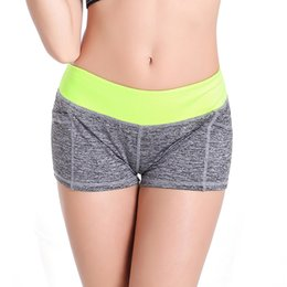 Wholesale Women Sport Running Shorts Female Fitness Casual Short Pants Women s Sports Suits For Gym Jogging Sport Shorts feminino