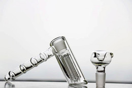 3 style Real Glass Bongs Water Pipes hammer 6 Arm perc percolator bubbler Dab Rigs Glass Bongs water pipes joint 18.8mm hookahs