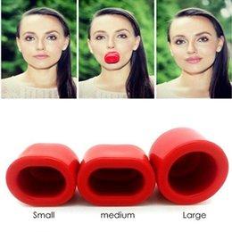 Wholesale Pump up your Pout Fuller Lips Plump Enhancer Suction Red Beauty Lip
