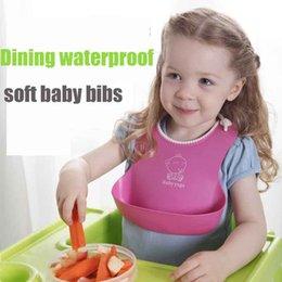 Wholesale Baby TPE Material Bibs Scarf Burp Cloths Newborns Accessories Saliva Towel Bib Waterproof belly protection for months above Children