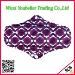 Wholesale Sanitary Protection Pads Super Absorbent Cloth Menstrual Pads Bamboo Charcoal Sanitary Napkins