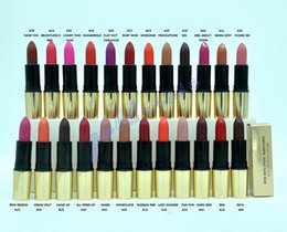 Wholesale Exclusive HOT NEW Makeup Matte Lipstick High quality g colors English name gift
