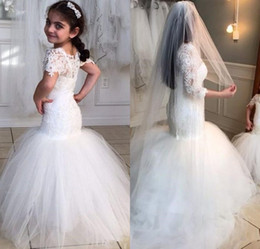 2017 baby black shirts New Hot Selling Custom Made Flower Girl Dresses Girls Pageant for Baby Sashes Ball Gown Half Sleeves Mermaid cheap baby black shirts