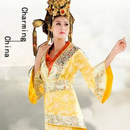 Wholesale Charming China Zone Tang Dynasty Fall in love with Ethnic Dress Tang film and television Chinese clothing