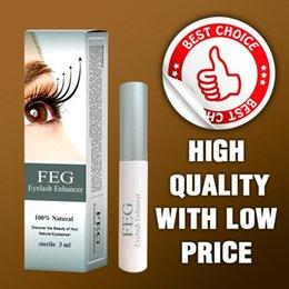 Wholesale 100 GMP SGS Validation days grow FEG eyelash enhancer with tradition Eyelash Growth Serum FEG Micro molecule Tech Real FEG Originality