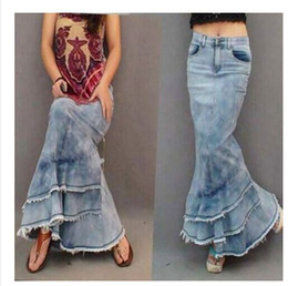 Cheap Long Denim Skirt For | Free Shipping Long Denim Skirt For ...