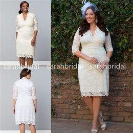 Semi formal wedding dresses plus size