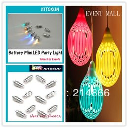 Factory Wholesael Small Battery Operated Waterproof Led mini party light  for Paper Crafts