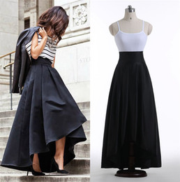 Long High Waist Pleated Skirt Online | Long High Waist Pleated ...