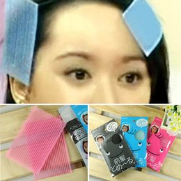 Wholesale Women Hair Bangs Posted Hair Sticker Acrylic Square Pattern Simple Style Health Beauty Accessories HJ0218W HOT