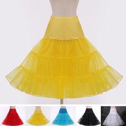 Wholesale Wholesales Hot Sale Boneless Wedding Petticoats Short Bridal Slip Underskirt For Wedding Dresses Ball Gown One Size XB0096 Smileseller
