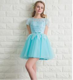 Ruffle Short Puffy Prom Dresses Online  Ruffle Short Puffy Prom ...