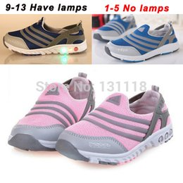 Wholesale Size New Spring Autumn popular children s lamp shoes for boys and girls running shoes breathable shoes kids Sneakers