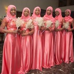 Discount Long Watermelon Bridesmaid Dresses | 2017 Watermelon ...