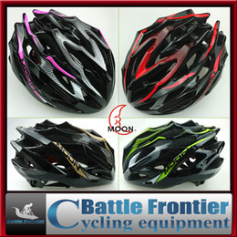 New brand 55-61cm helmets EPS+PC in-molding for bicycle cycling racing sports helmet head protector gear bike accessories red