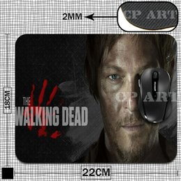 Le tapis de souris Wholesale-Gaming The Walking Dead Daryl Dixon Rubber Gamer Soft Comfort Tapis de souris