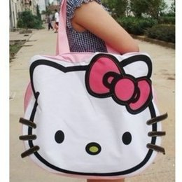 Wholesale Hello Kitty baby diaper nappy bags mummy bag lovely leisure bag cartoon bag