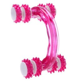 Wholesale Cellulite Control Roller Massager Thigh Full body Health Beauty Hand held Wheel