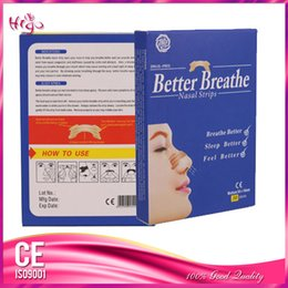 Wholesale 30 piece box X16cm Breath Nasal Strips Anti snoring Better Health Care Products